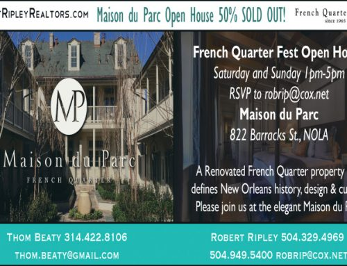 French Quarter Festival Open House